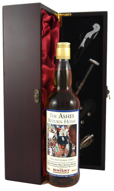 2005 The Ashes Return Home Single Speyside Malt Scotch Whisky 2005