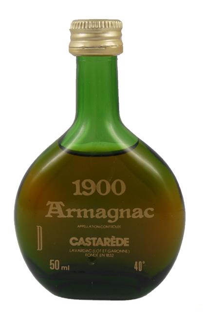 Stockists of 1900 Castarede Bas Armagnac 1900 (5cl)