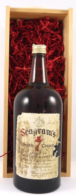 1970's Seagram's 7 Crown Whisky 1970s (175cl)