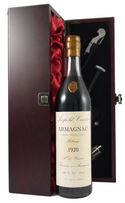 1920 Leopold Carrere Vintage Armagnac 1920 (70cl)