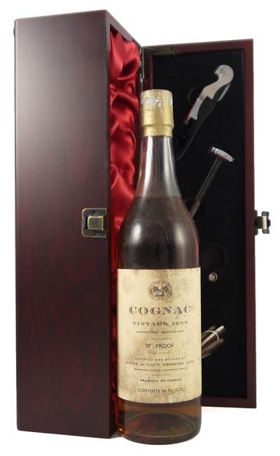 1953 Cognac 1953 (24 Flozs) Army & Navy bottling