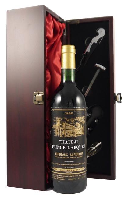 1982 Chateau Prince Larquey 1982 Bordeaux Superieur