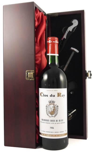 1986 Clos du Rey 1986 Bordeaux