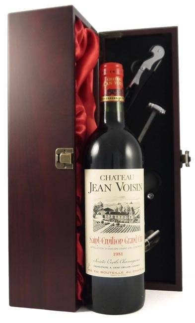 1981 Chateau Jean Voisin 1981 Saint Emilion Grand Cru