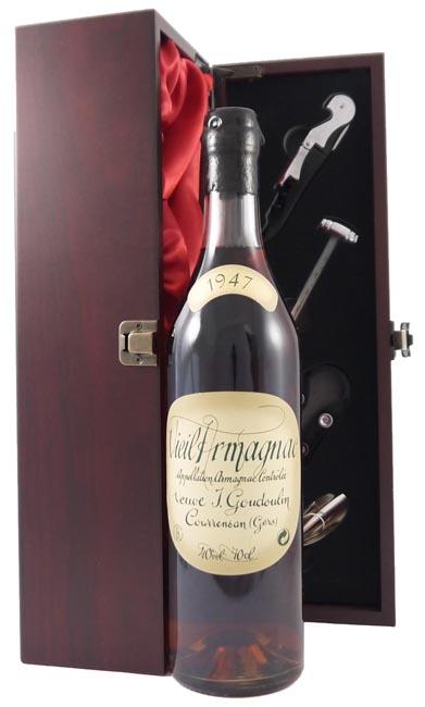 1947 Vieil Bas Veuve J Goudoulin Vintage Armagnac 1947 (70cl)