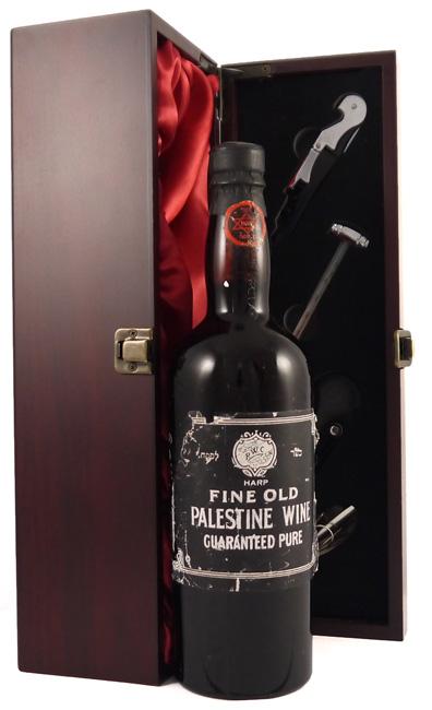 1950's Palestine Port Type Wine 1950's Rishon Le Zion