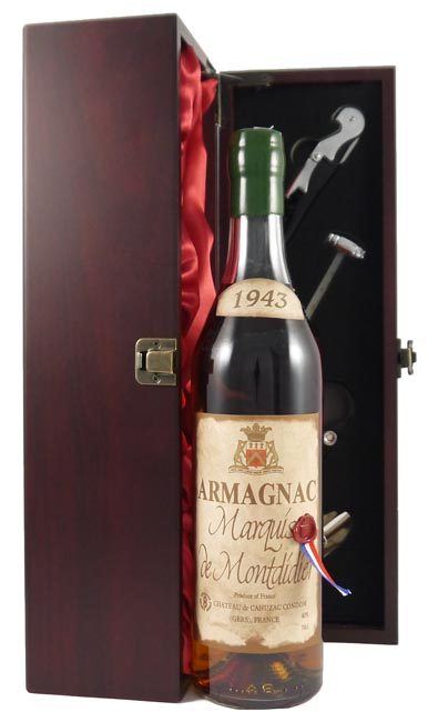 1943 Marquis de Montdidier Vintage Armagnac 1943 (70cl)