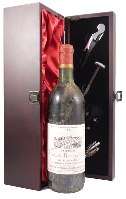 1974 Chateau Cazat Beauchene 1974 Bordeaux