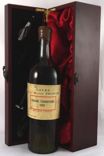 1929 Caves de La Maison Prunier Grande Champagne Cognac 1929 (70cl)