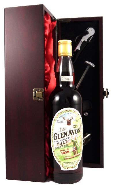 1959 Glen Avon 1959 Vintage 41 year old Malt Scotch Whisky