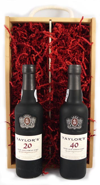 1960 Taylors 60 years of Port (35cl X2)