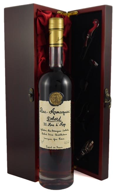 Alcoholic Drinks 1989 30 Year Old Delord Freres 30 Year Old Armagnac (70cl)