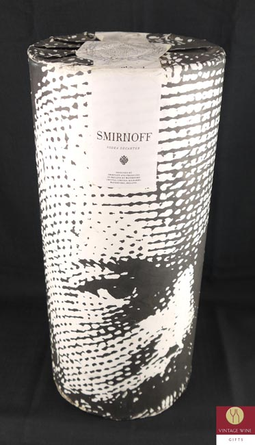 1980's Smirnoff Vodka Waterford Czar Alexander III crystal decanter
