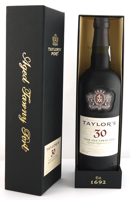 1990 Taylor Fladgate 30 year old Tawny Port (75cls) In Taylor's Gift Box